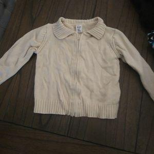 Zara baby zip up cardigan